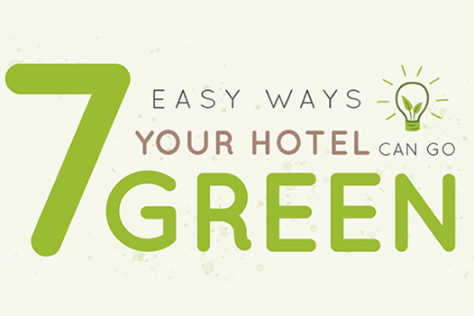7 Easy Ways Your Hotel Can Go Green