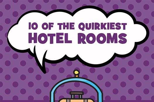 10 Of The Quirkiest Hotel Rooms