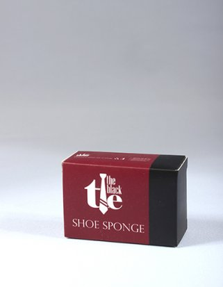 Black Tie Shoe Shine Sponge - Box of 500
