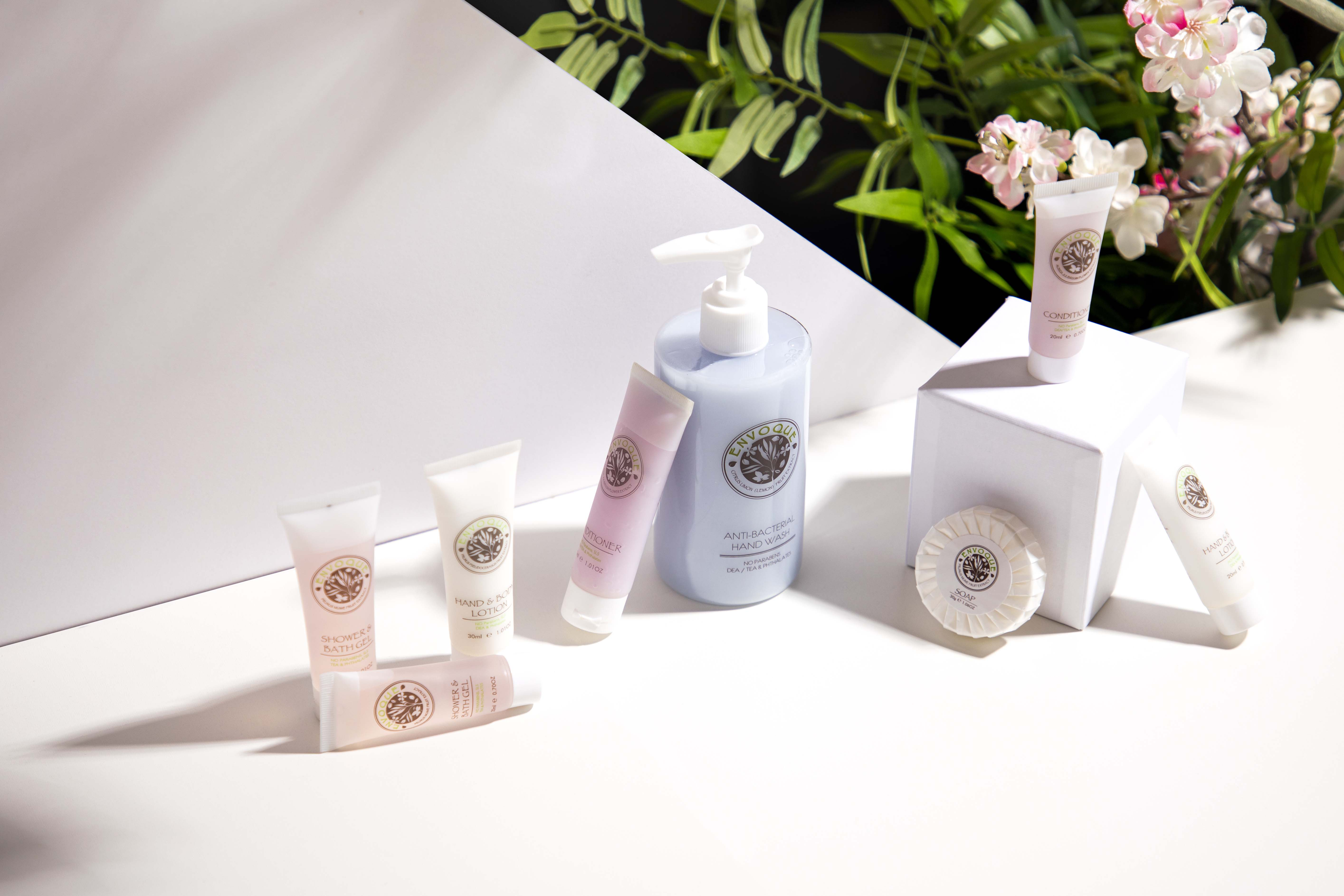 Envoque Hotel Toiletries