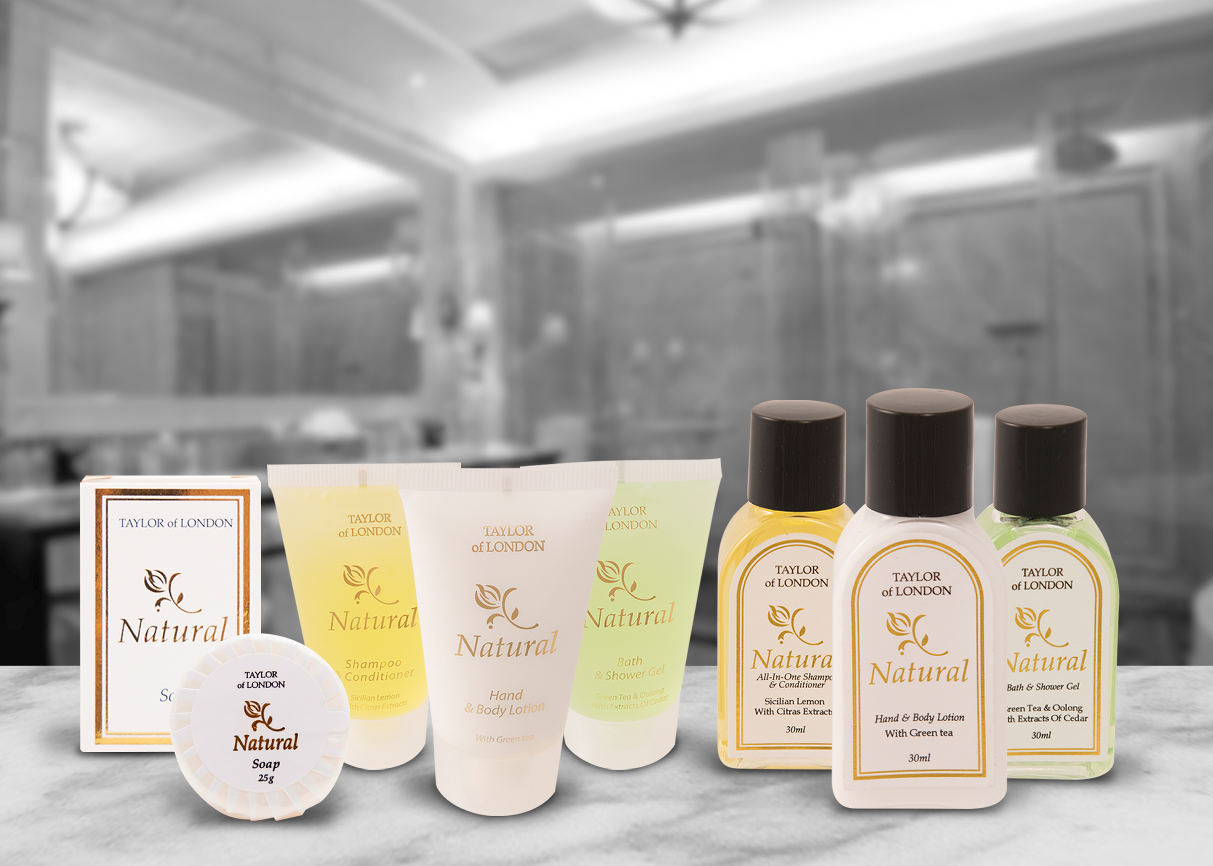 Traditional Natural By Taylor Of London Hotel Toiletries
