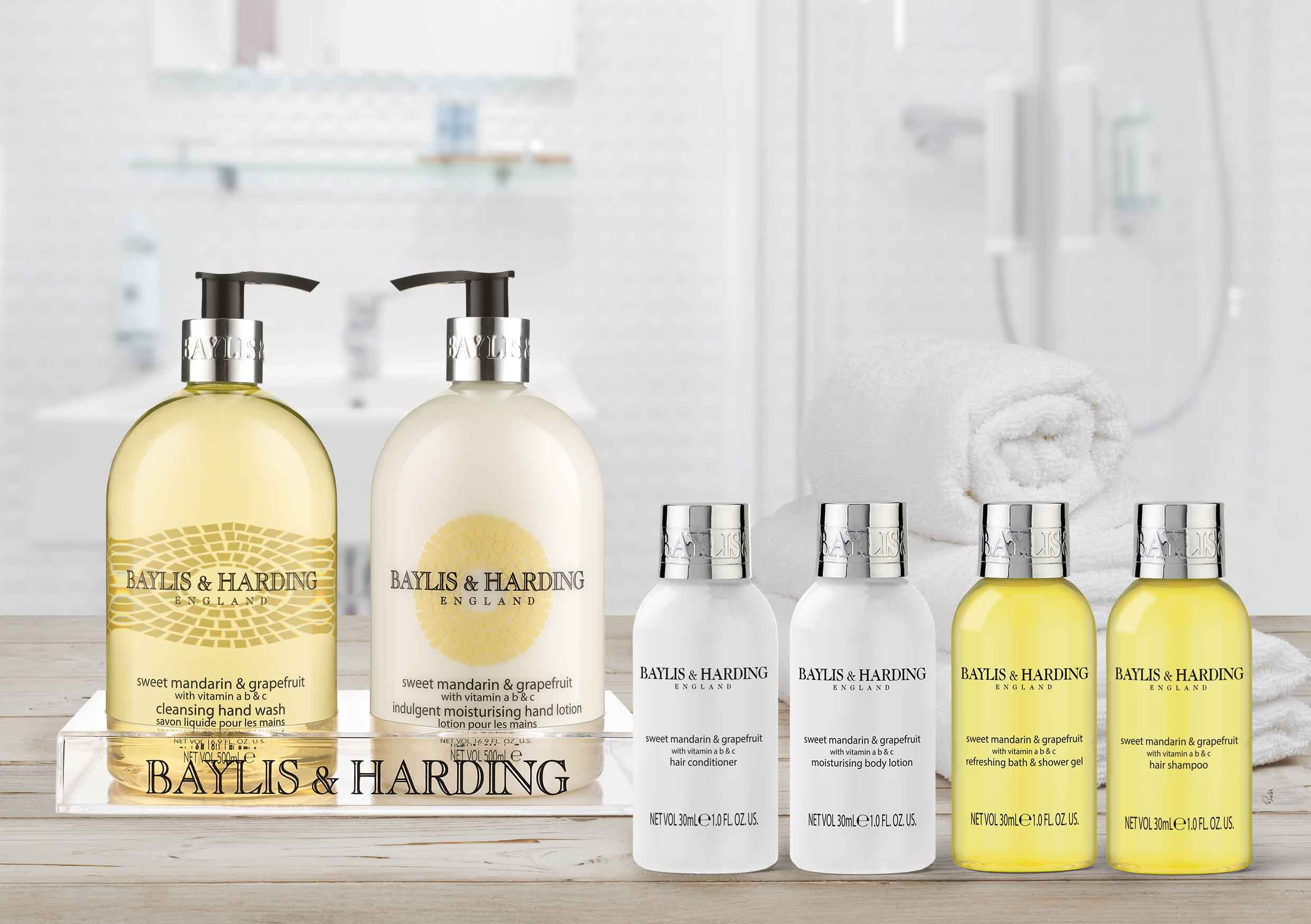 Baylis & Harding Hotel Toiletries