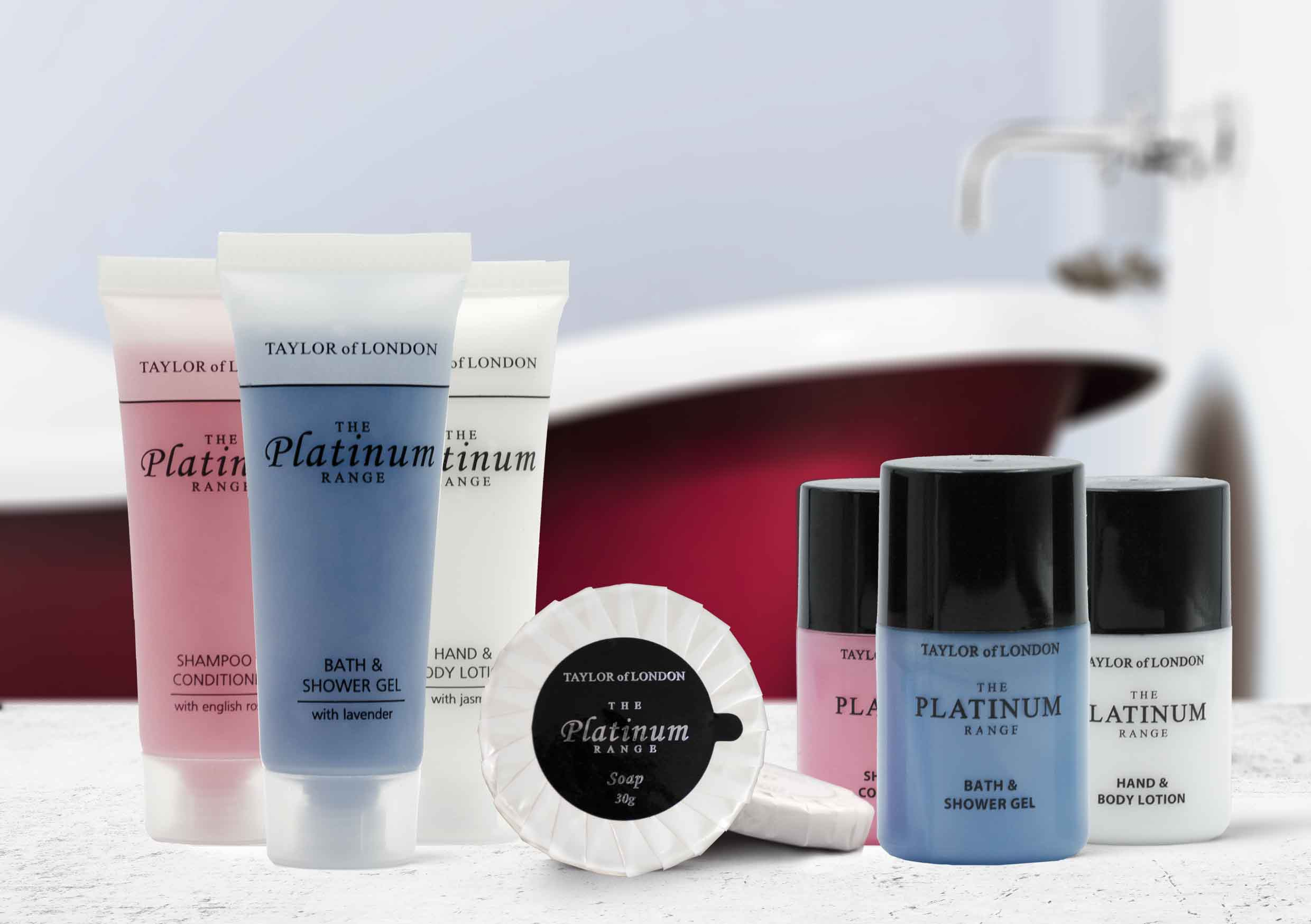 Platinum By Taylor Of London Hotel Toiletries