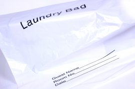 Laundry Bags - Plastic - 1 Box of 50