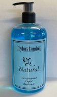 Natural 500ml Anti Bacterial Liquid Hand Wash Bottle - 1 Box of 3