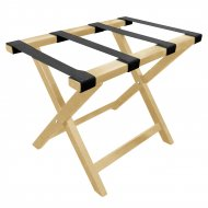Wooden Luggage Rack - Natural  - Each