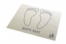 Disposable Bathmats - 1 Box of 500