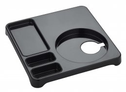 Emberton Halstead Welcome Tray Black