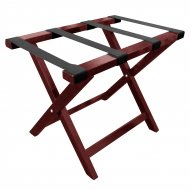 Wooden Luggage Rack in Mahogany - Each