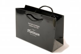 Platinum by Taylor of London Gift Bag-1 Box of 10