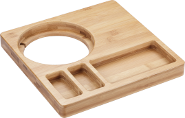 Emberton Tongwell Natural Bamboo Welcome Tray (Tray Only)
