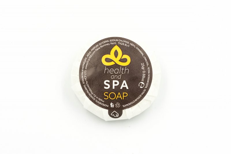 Health & Spa 25g Tissue Pleat Soap