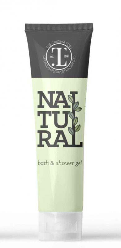 Natural - 30ml Bath & Shower Gel Tube - Box of 250
